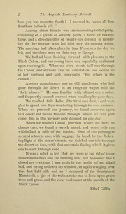 Mary Baldwin College - Bluestocking Yearbook (Staunton, VA) online yearbook collection, 1892 Edition, Page 8