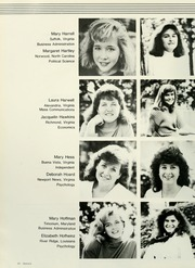 Mary Baldwin College - Bluestocking Yearbook (Staunton, VA) online yearbook collection, 1988 Edition, Page 44