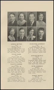 Marysville High School - Viking Yearbook (Marysville, MI) online yearbook collection, 1934 Edition, Page 13 of 62