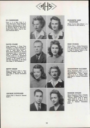 Maryville High School - Appalachian Yearbook (Maryville, TN) online yearbook collection, 1945 Edition, Page 14