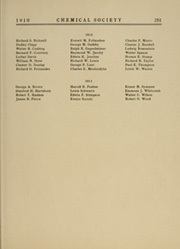 Massachusetts Institute of Technology - Technique Yearbook (Cambridge, MA) online yearbook collection, 1910 Edition, Page 261