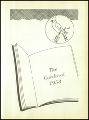 Maud High School - Cardinal Yearbook (Maud, TX) online yearbook collection, 1958 Edition, Page 5
