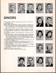 Mayfield High School - Mayfielder Yearbook (Mayfield, OH) online yearbook collection, 1959 Edition, Page 9 of 94