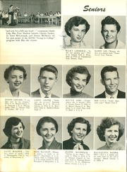 McAlester High School - Dancing Rabbit Yearbook (McAlester, OK) online yearbook collection, 1954 Edition, Page 50