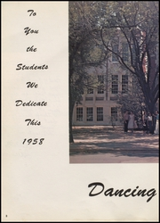 McAlester High School - Dancing Rabbit Yearbook (McAlester, OK) online yearbook collection, 1958 Edition, Page 12