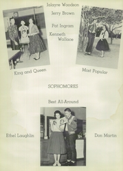 McCamey High School - Badger Yearbook (McCamey, TX) online yearbook collection, 1956 Edition, Page 16