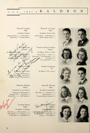 McDowell High School - Kaldron Yearbook (Erie, PA) online yearbook collection, 1942 Edition, Page 18