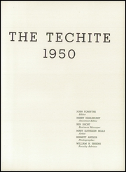 McKinley Technical High School - Techite Yearbook (Washington, DC) online yearbook collection, 1950 Edition, Page 5 of 136