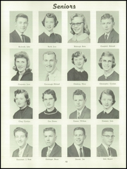 McPherson High School - Bullpup Yearbook (Mcpherson, KS) online yearbook collection, 1957 Edition, Page 18