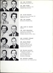 Memphis University School - Owl Yearbook (Memphis, TN) online yearbook collection, 1961 Edition, Page 15 of 144