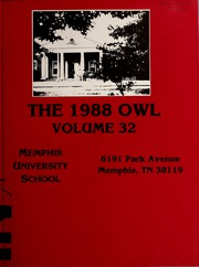 Memphis University School - Owl Yearbook (Memphis, TN) online yearbook collection, 1988 Edition, Page 3