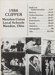 Mendon Union High School - Clipper Yearbook (Mendon, OH) online yearbook collection, 1984 Edition, Page 5
