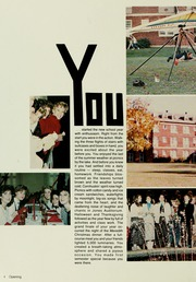 Meredith College - Oak Leaves Yearbook (Raleigh, NC) online yearbook collection, 1986 Edition, Page 8