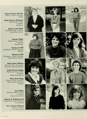 Meredith College - Oak Leaves Yearbook (Raleigh, NC) online yearbook collection, 1987 Edition, Page 184