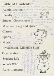 Miami High School - Miamian Yearbook (Miami, OK) online yearbook collection, 1962 Edition, Page 9