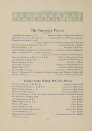 Miami University - Recensio Yearbook (Oxford, OH) online yearbook collection, 1918 Edition, Page 16