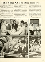 Middle Tennessee State University - Midlander Yearbook (Murfreesboro, TN) online yearbook collection, 1982 Edition, Page 81
