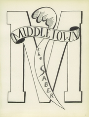 Middletown High School - Mihiscan Yearbook (Middletown, IN) online yearbook collection, 1956 Edition, Page 5
