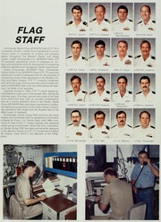 Midway (CV 41) - Naval Cruise Book online yearbook collection, 1987 Edition, Page 18