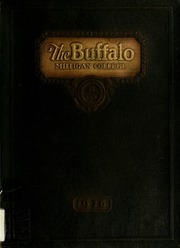 Milligan College - Buffalo Yearbook (Elizabethton, TN) online yearbook collection, 1926 Edition, Cover
