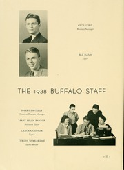 Page 16, 1938 Edition, Milligan College - Buffalo Yearbook (Elizabethton, TN) online yearbook collection