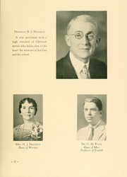 Page 17, 1938 Edition, Milligan College - Buffalo Yearbook (Elizabethton, TN) online yearbook collection