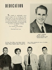 Page 10, 1950 Edition, Milligan College - Buffalo Yearbook (Elizabethton, TN) online yearbook collection