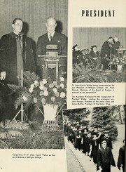 Page 12, 1950 Edition, Milligan College - Buffalo Yearbook (Elizabethton, TN) online yearbook collection