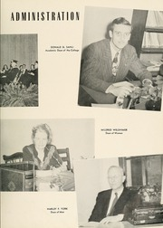 Page 13, 1950 Edition, Milligan College - Buffalo Yearbook (Elizabethton, TN) online yearbook collection