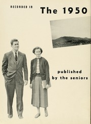 Page 6, 1950 Edition, Milligan College - Buffalo Yearbook (Elizabethton, TN) online yearbook collection