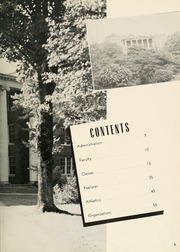 Page 9, 1950 Edition, Milligan College - Buffalo Yearbook (Elizabethton, TN) online yearbook collection
