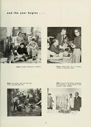 Page 11, 1958 Edition, Milligan College - Buffalo Yearbook (Elizabethton, TN) online yearbook collection