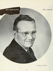 Page 16, 1958 Edition, Milligan College - Buffalo Yearbook (Elizabethton, TN) online yearbook collection