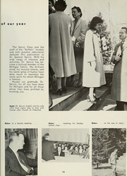 Page 17, 1958 Edition, Milligan College - Buffalo Yearbook (Elizabethton, TN) online yearbook collection