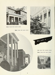 Page 8, 1958 Edition, Milligan College - Buffalo Yearbook (Elizabethton, TN) online yearbook collection