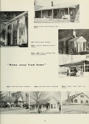 Page 9, 1958 Edition, Milligan College - Buffalo Yearbook (Elizabethton, TN) online yearbook collection