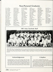 Millikan High School - Aries Yearbook (Long Beach, CA) online yearbook collection, 1983 Edition, Page 260