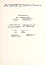 Page 11, 1919 Edition, Millikin University - Millidek Yearbook (Decatur, IL) online yearbook collection