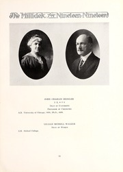 Page 15, 1919 Edition, Millikin University - Millidek Yearbook (Decatur, IL) online yearbook collection