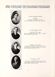 Page 16, 1919 Edition, Millikin University - Millidek Yearbook (Decatur, IL) online yearbook collection