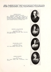 Page 17, 1919 Edition, Millikin University - Millidek Yearbook (Decatur, IL) online yearbook collection