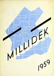 Millikin University - Millidek Yearbook (Decatur, IL) online yearbook collection, 1959 Edition, Cover