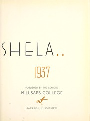 Page 7, 1937 Edition, Millsaps College - Bobashela Yearbook (Jackson, MS) online yearbook collection