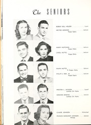 Millsaps College - Bobashela Yearbook (Jackson, MS) online yearbook collection, 1949 Edition, Page 38