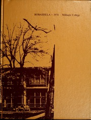 Millsaps College - Bobashela Yearbook (Jackson, MS) online yearbook collection, 1974 Edition, Cover