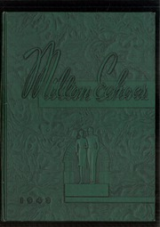 Milton High School - Echoes Yearbook (Milton, PA) online yearbook collection, 1943 Edition, Cover