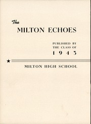 Page 6, 1943 Edition, Milton High School - Echoes Yearbook (Milton, PA) online yearbook collection