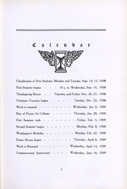 Page 9, 1910 Edition, Milwaukee Downer College - Cumtux Yearbook (Milwaukee, WI) online yearbook collection