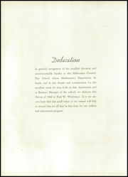 Page 8, 1946 Edition, Milwaukee Country Day School - Arrow Yearbook (Milwaukee, WI) online yearbook collection