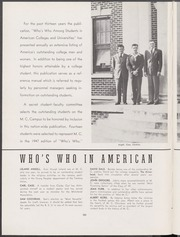 Mississippi College - Tribesman Yearbook (Clinton, MS) online yearbook collection, 1947 Edition, Page 102 of 140